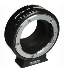 Metabones MB_NFG-m43-BM1 - Nikon G to Micro FourThirds adapter (Black Matt)