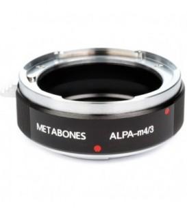 Metabones MB_ALPA-m43-BM1 - ALPA to Micro FourThirds adapter (Black Matt)