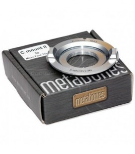 Metabones MB_C-m43-CH3 - C-mount to Micro FourThirds adapter (CHROME)