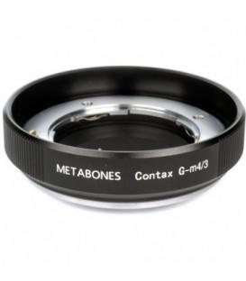 Metabones MB_CG-m43-BM1 - Contax G to Micro FourThirds adapter (Black Matt)