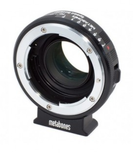Metabones MB_SPNFG-BMCC-BM1 - Nikon G to BMCC Speed Booster (Black Matt)