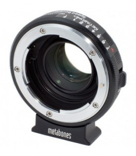 Metabones MB_SPNFG-BMPCC-BM1 - Nikon G to BMPCC Speed Booster (Black Matt)