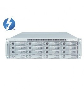 Netstor NT-NA333TB2 - Thunderbolt 2 Serie 3HE 16-bay JBOD storage with PCIe Expansion