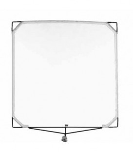 Matthews 159022 - 48 inches x 48 inches Double Scrim - White