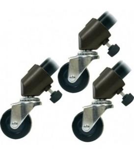 Matthews 387101 - Wheels set of 3 1inches D