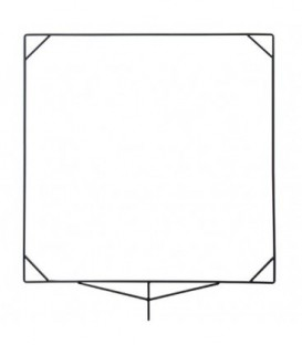 Matthews 539189 - 48 inches x 48 inches Flag Frame