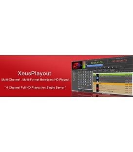 Xeus XE-PO-HD1CH - SD/HD Playout Automation