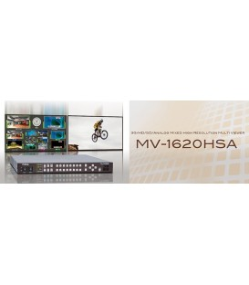 For-A MV-1620HSA - Compact 1u 16 input HD/SD-SDI/Composite input Multiviewer.