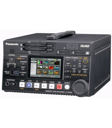 Panasonic AJ-PD500EJ8 - microP2 AVC-ULTRA recorder
