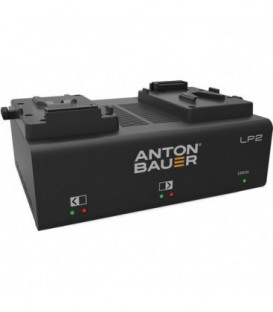 Anton-Bauer 8475-0127 - LP2 Dual V-Mount Charger