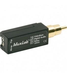 MuxLab MU500020 - Digital Audio Balun