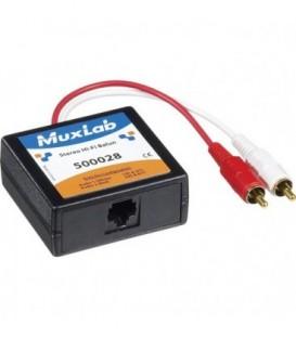 MuxLab MU500028 - Stereo Hi-Fi Balun