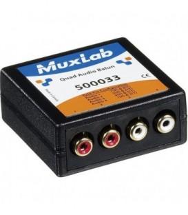 MuxLab 500033 - Quad Audio Balun