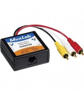 MuxLab MU500039 - Stereo Hi-Fi Video Balun