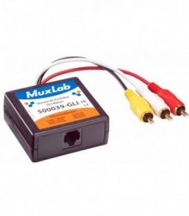 MuxLab MU500039-GLI - Stereo Hi-Fi Video GLI Balun