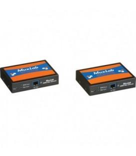 MuxLab 500460 - HDMI 4K Fiber Extender Kit, 110-220V
