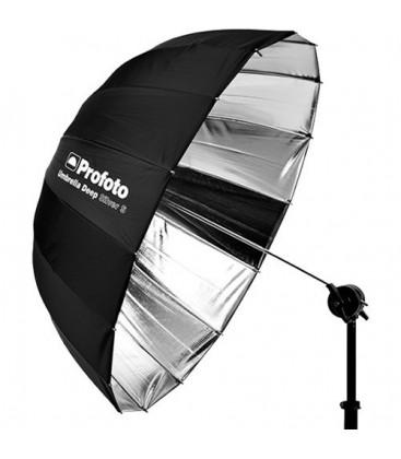 "Profoto P100984 - Deep Small Umbrella (33"", Silver)"