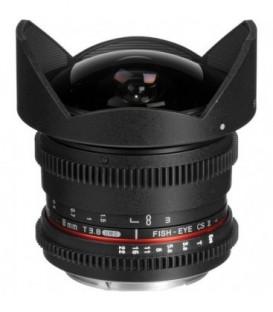 Samyang F1322402101 - 8mm T3.8 CSII VDSLR II Canon M