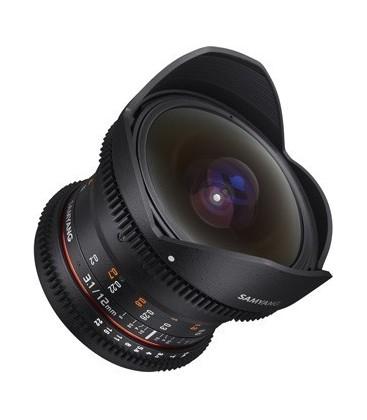Samyang F1312101101 - 12mm T3.1 VDSLR Canon