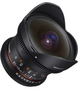 Samyang F1312106101 - 12mm T3.1 VDSLR Sony E-Mount