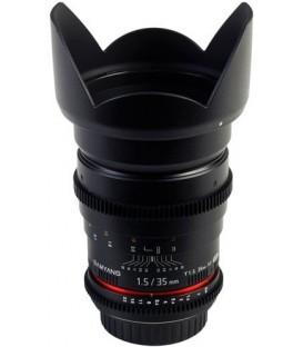 Samyang F1312910101 - 35mm T1.5 VDSLR II Fuji X