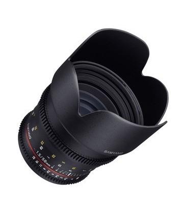 Samyang F1311110101 - 50mm T1.5 VDSLR Fuji X