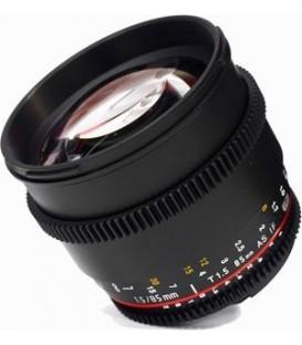 Samyang F1313006101 - 85mm T1.5 VDSLR II Sony E-Mount