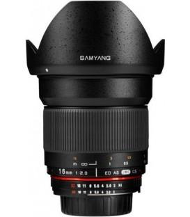 Samyang F1120703101 - 16mm F2.0 Nikon AE