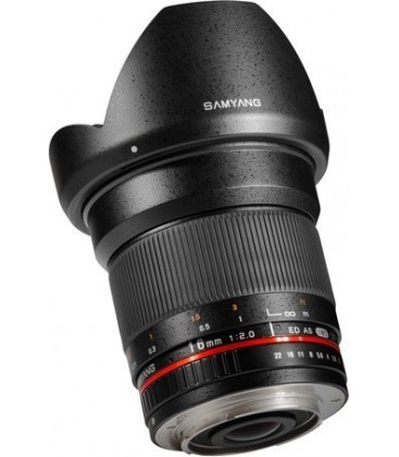 Samyang F1120710101 - 16mm F2.0 Fuji X
