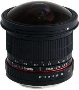 Samyang F1121906101 - 8mm F3.5 CSII Sony E-Mount