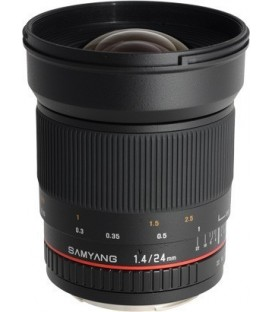 Samyang F1110808101 - 24mm F1.4 Samsung NX