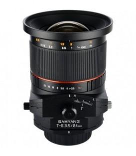 Samyang F1110901101 - 24mm F3.5 T/S Canon
