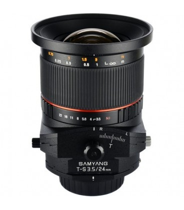 Samyang F1110910101 - 24mm F3.5 T/S Fuji X
