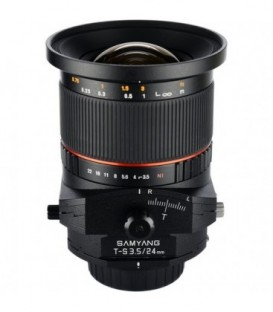 Samyang F1110906101 - 24mm F3.5 T/S Sony E-Mount