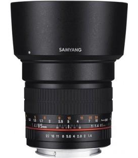Samyang F1111209101 - 85mm F1.4 MFT