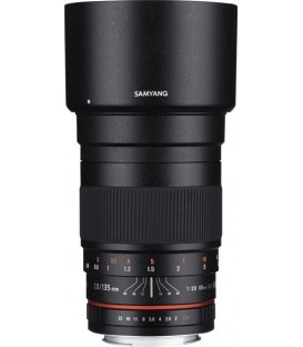 Samyang F1112206101 - 135mm F2.0 Sony E-Mount