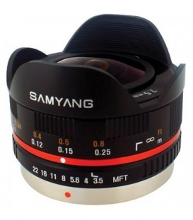 Samyang F1230109101 - 7,5mm F3,5 MFT (Black)