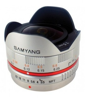 Samyang F1230109102 - 7,5mm F3,5 MFT (Silver)
