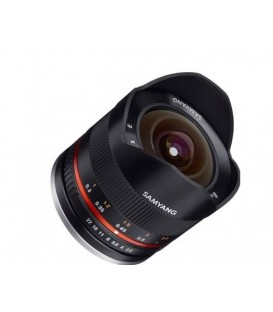 Samyang F1220310101 - 8mm F2.8 II Fuji X (Black)