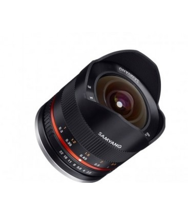 Samyang F1220310101 - 8mm F2.8 II Fuji X (Black)