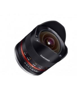 Samyang F1220308101 - 8mm F2.8 II Samsung NX (Black)