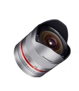 Samyang F1220308102 - 8mm F2.8 II Samsung NX (Silver)