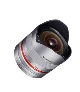 Samyang F1220306102 - 8mm F2.8 II Sony E (Silver)