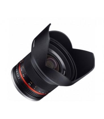 Samyang F1220510101 - 12mm F2.0 Fuji X (Black)