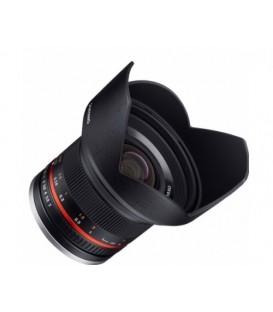 Samyang F1220508101 - 12mm F2.0 Samsung NX (Black)