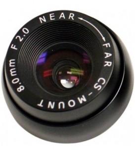 Marshall V-4408.0-2.0-HR - 8.0mm F2.0 CS Mount with IR Cut Filter