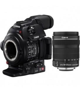 Canon 0202C026 - Canon EOS C100 Mark II + EF 18-135mm