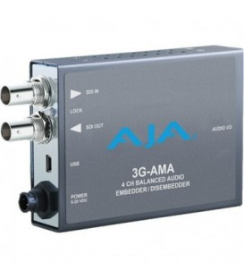 AJA 3G-AMA - 3G-SDI 4-ch. Analog Audio Embedder/Disembedder