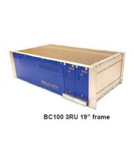 "Bluebell BC100 v2 - 19"" 3RU Chassis for up to 15 BC Series Cards"