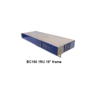 "Bluebell BC160P - 19"" 1RU Chassis for up to 6 Passive BCxxx Cards"